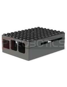 PI-BLOX ENCLOSURE, ABS, Black