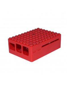PI-BLOX ENCLOSURE, ABS, Red