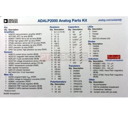 Analog Devices - ADALP2000  Active Learning Program Parts Kit | Analog Devices | Analog Devices
