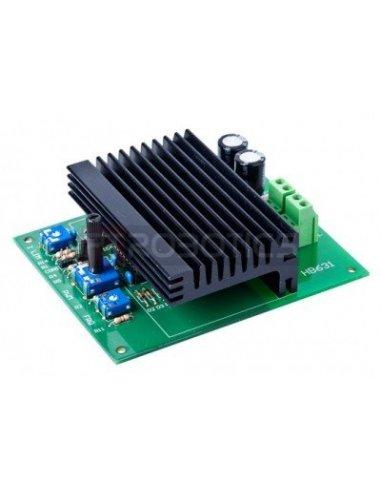 HTronic 12V-24V 10A motor speed controller   Pontes H  