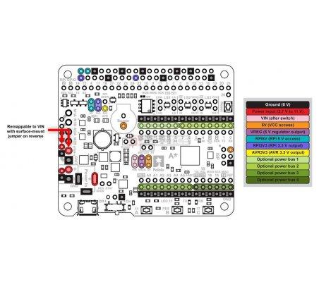 A-Star 32U4 Robot Controller LV with Raspberry Pi Bridge
