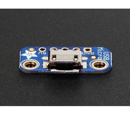 USB Micro-B Breakout Board Adafruit