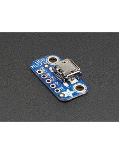 USB Micro-B Breakout Board