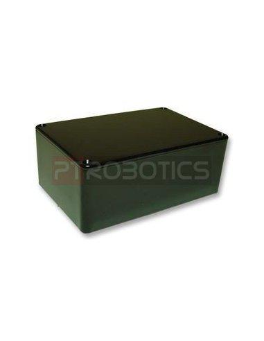 Caixa aparelhagem 45X118X98mm Plástico Preta   Caixa ABS   Caixas de Aparelhagem  