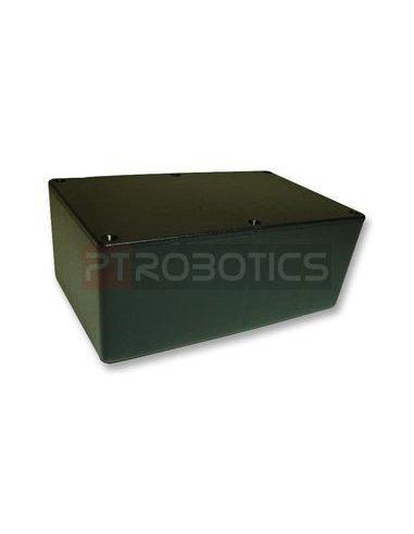Caixa aparelhagem 60X150X100mm Plástico Preta | Caixa ABS