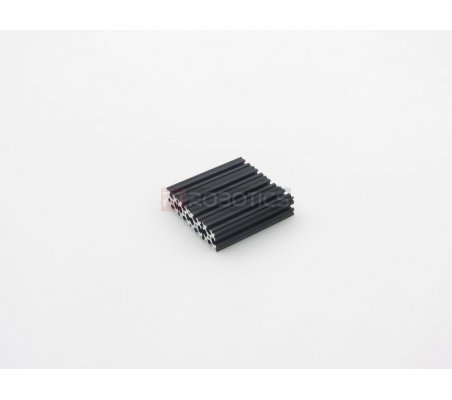 OpenBeam 60mm Black Anodised Openbeam