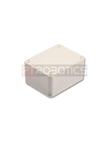 Caixa aparelhagem 75X56X25mm Plástico Branco | Caixa ABS | Caixas de Aparelhagem |