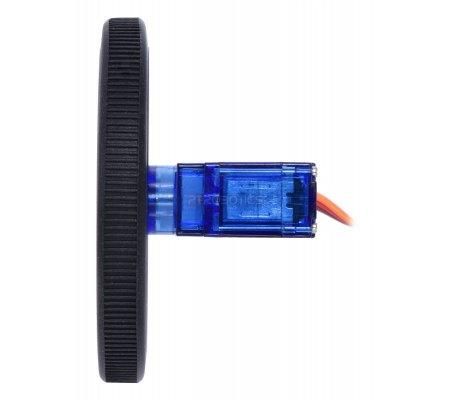 FEETECH FS90R Micro Continuous Rotation Servo Pololu