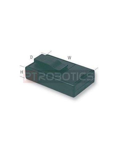 Caixa Clip Plastico ABS Preta | Caixas de Aparelhagem |