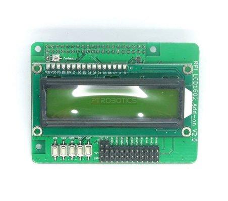 Raspberry Pi Character LCM LCD1602 Add-on Display Module V2.0 Itead