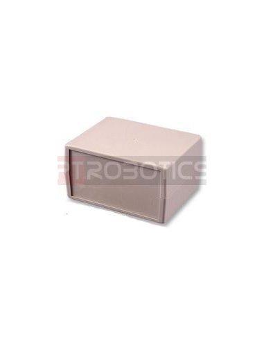 Caixa de Aparelhagem 130X100X100mm Plástico Cinzenta   Caixa ABS