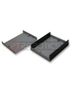 Caixa Plastico ABS Cinzenta