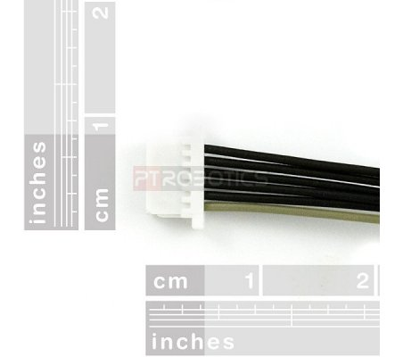 JST SH Jumper 6 Wire - 1 Foot | Assemblados | Sparkfun