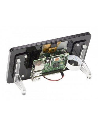 Pimoroni - Noir 7 Touchscreen Display Frame | LCD Raspberry Pi | Pimoroni