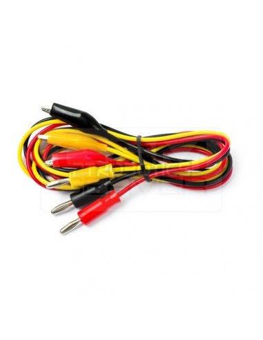 Test Lead Kit 0.8m 60V Black, Red, Amarelo | Pontas de Prova |