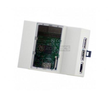 Italtronic DIN Rail Raspberry Pi Model B+/2/3 Case | Caixas Raspberry pi | ModmyPi