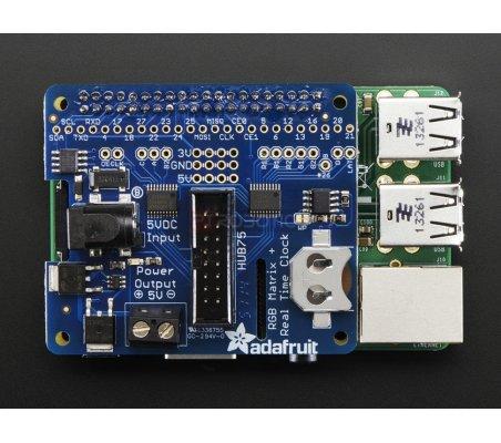Adafruit RGB Matrix HAT + RTC for Raspberry Pi - Mini Kit Adafruit