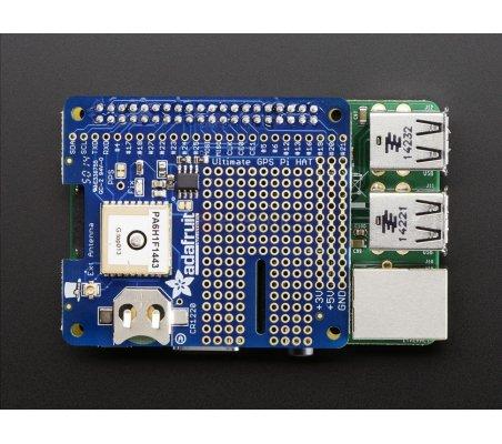 Adafruit Ultimate GPS HAT for Raspberry Pi A+/B+/Pi 2 - Mini Kit Adafruit