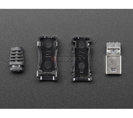DIY Connector Shell (Mini USB Type B - Male) Adafruit