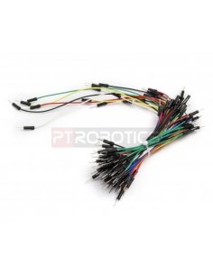 Jumper Wires M/M Pack of 65 mixed colours Arduino