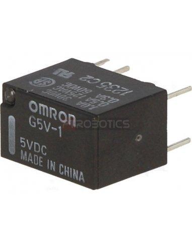 Relay Omron G5V1-5 SPDT 125V 0.5A Coil 5V Omron