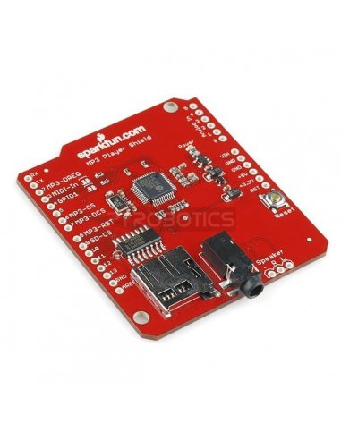 SparkFun MP3 Player Shield   Shields Audio   Sparkfun