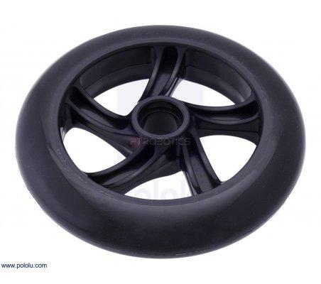Scooter/Skate Wheel 144×29mm - Black | Rodas para Robôs | Pololu