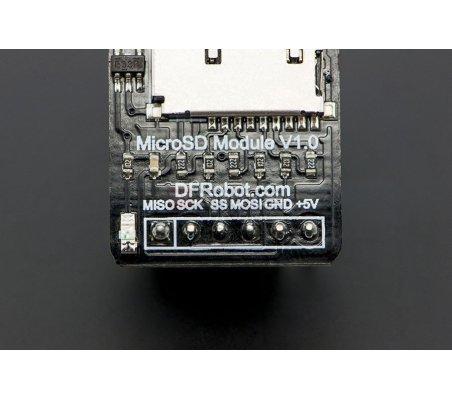MicroSD card module for Arduino DFRobot