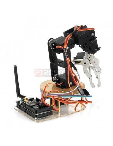 Sainsmart 6 Axis Control Palletizing Robot Arm Model Diy W O Arduino Controller Servos Diy
