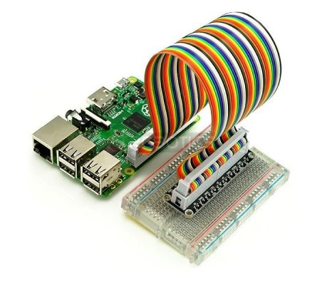 GPIO Breakout Board Kit for Raspberry Pi 2/Model B+/Model A+ | Cabos e adaptadores | TiniSyne