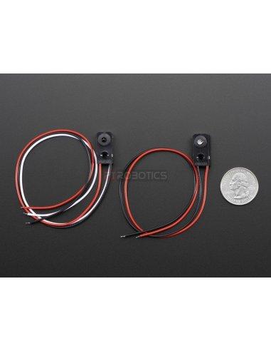 IR Break Beam Sensor - 3mm LEDs Omron