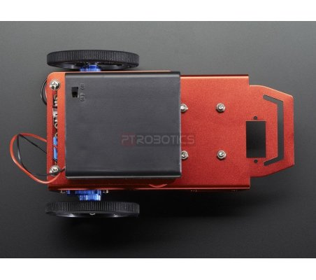 Mini Robot Rover Chassis Kit - 2WD with DC Motors   Chassi de Robo   Adafruit