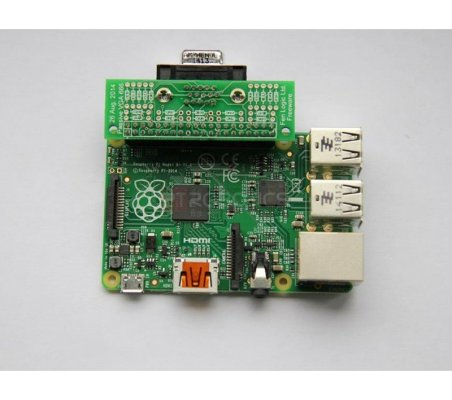 Pi Supply Gert VGA 666 - Hardware VGA for Raspberry Pi | Cabos e adaptadores | ModmyPi