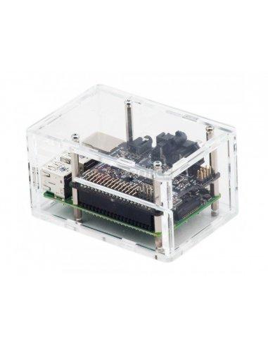 Pi-DAC+ Case Clear | Caixas Raspberry pi | ModmyPi