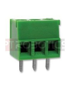 Terminal Block 3P Green 3.81mm