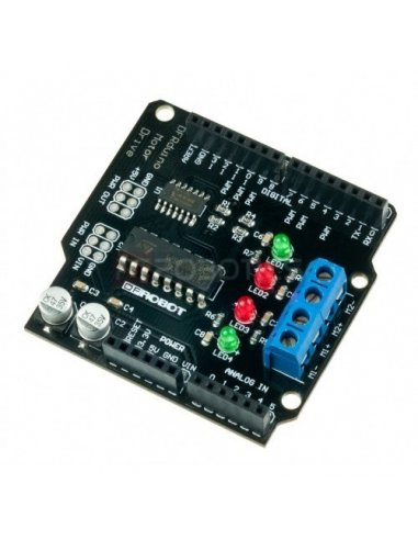 1A Motor Shield For Arduino | Pontes H |