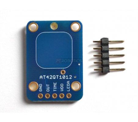 Standalone Toggle Capacitive Touch Sensor Breakout - AT42QT1012 | Botões e Teclados | Adafruit