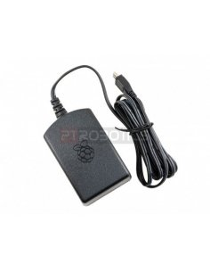 Micro USB power supply adapter 5.1V 2.5A Black