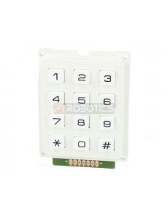 Keypad 12 button White