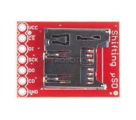 SparkFun Level Shifting microSD Breakout | Conversores | Sparkfun
