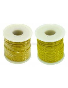 Wire Spool Yellow 12/34AWG 3A 0.5mm - 25m