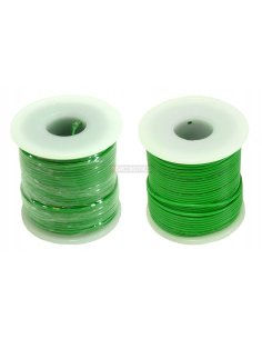 Wire Spool Green 12/34AWG 3A 0.5mm - 25m