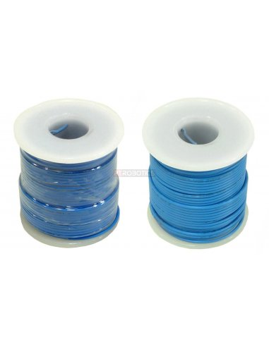 Wire Spool Blue 12/34AWG 3A 0.5mm - 25m