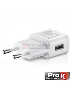 USB Compact Power Supply 5V-2A White