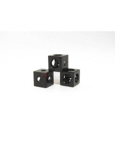MakerBeam Corner Cube Black Makerbeam