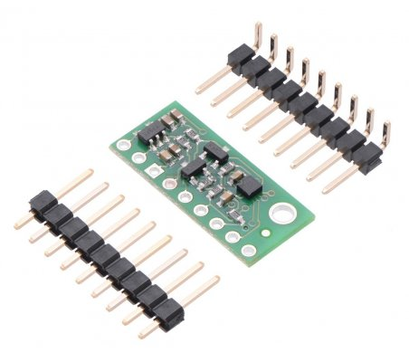 LIS3MDL 3-Axis Magnetometer Carrier with Voltage Regulator