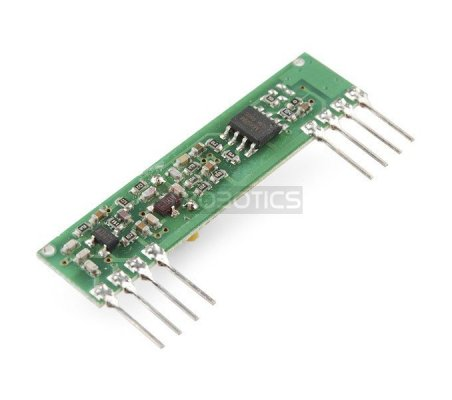 RF Link Receiver - 4800bps 315MHz | 315Mhz e 433Mhz |