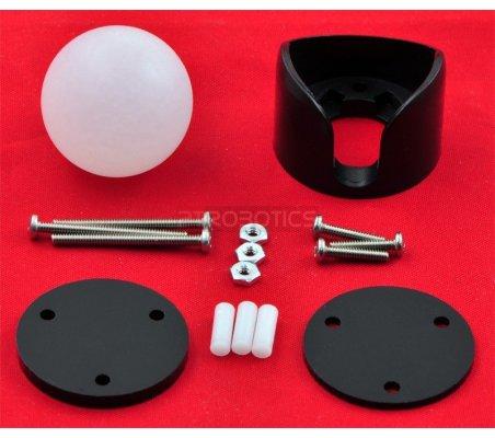 Pololu Ball Caster with 1″ Plastic Ball | Casters | Pololu