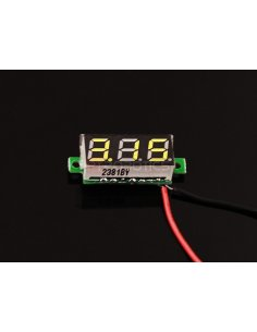 0.28 inch LED digital DC voltmeter – Yellow