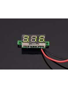 0.28 inch LED digital DC voltmeter - Green